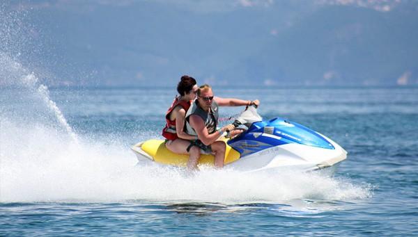 Gulet Charter Jet Ski Usage