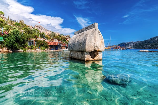 Kekova Blue Cruise Route
