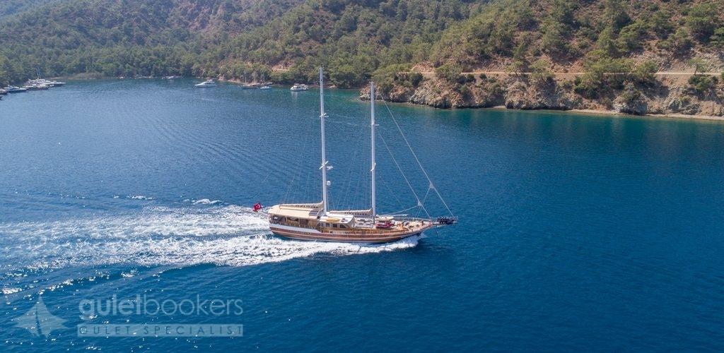Sema Tuana Deluxe Gulet Yacht For Charter