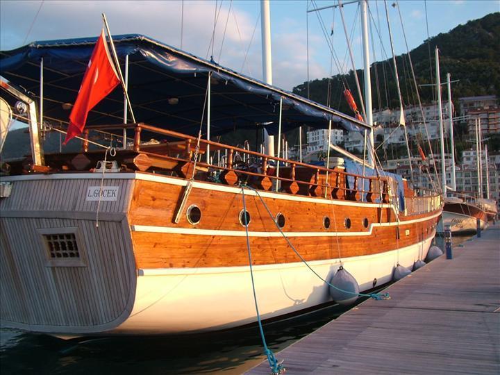Gulet Seaborn Legend