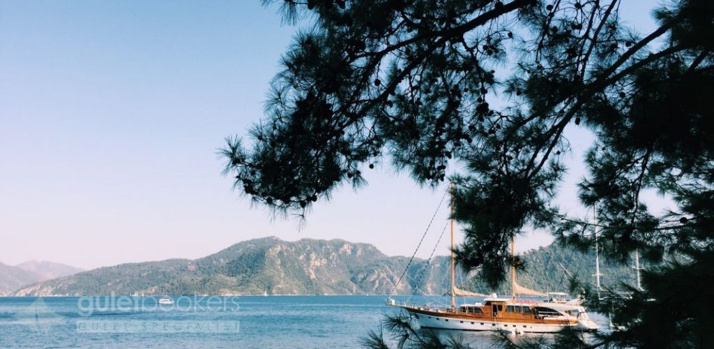 Promenade Of Marmaris to the sea and mountains
