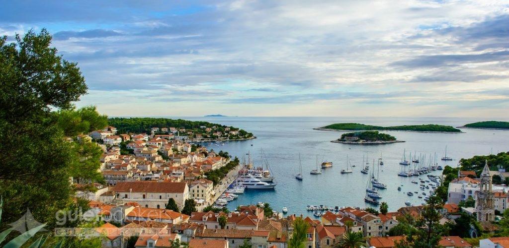 Old Adriatic Island Town Hvar