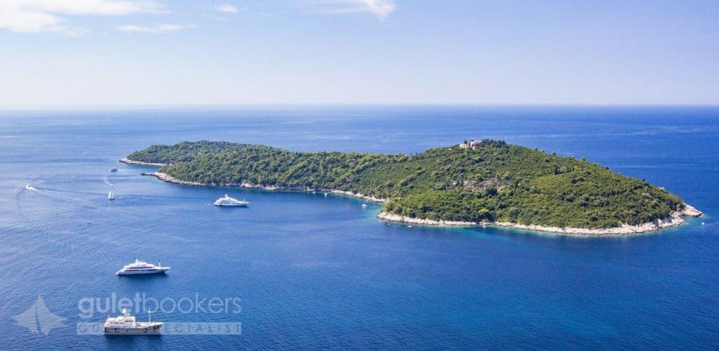 Lokrum Island Dalmatian Croatia