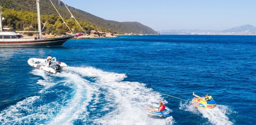 Water Sports On Gulet Charter