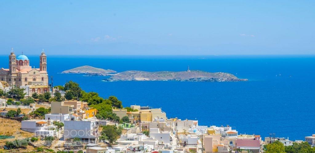 Lady of the Cyclades, Syros Island Greece