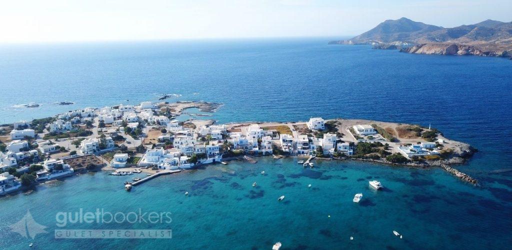 Island Of Kimolos, Milos Island Cyclades Greece