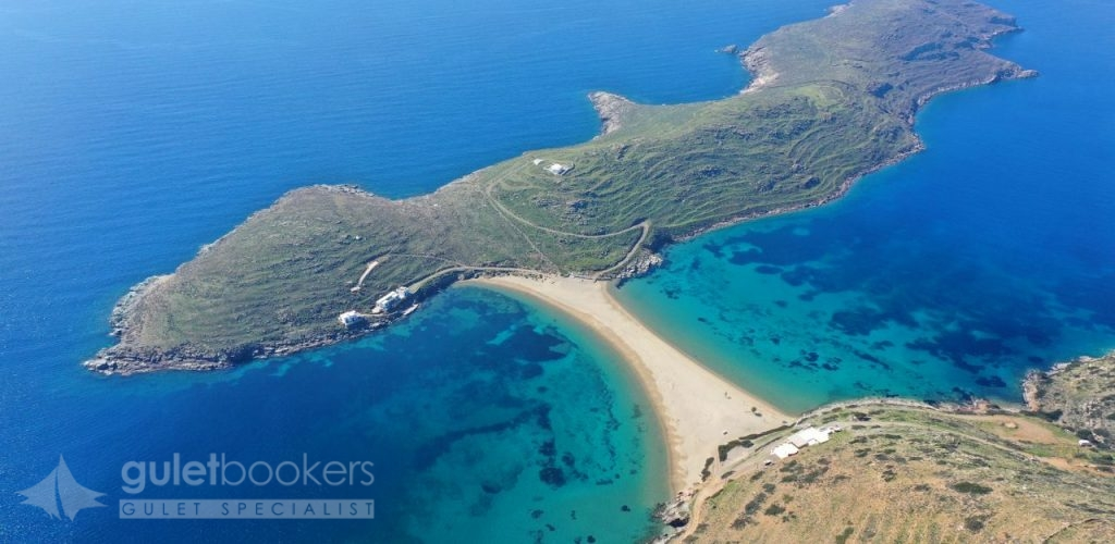 Turquoise Sea Paradise Beach Fykiada Island of Kythnos