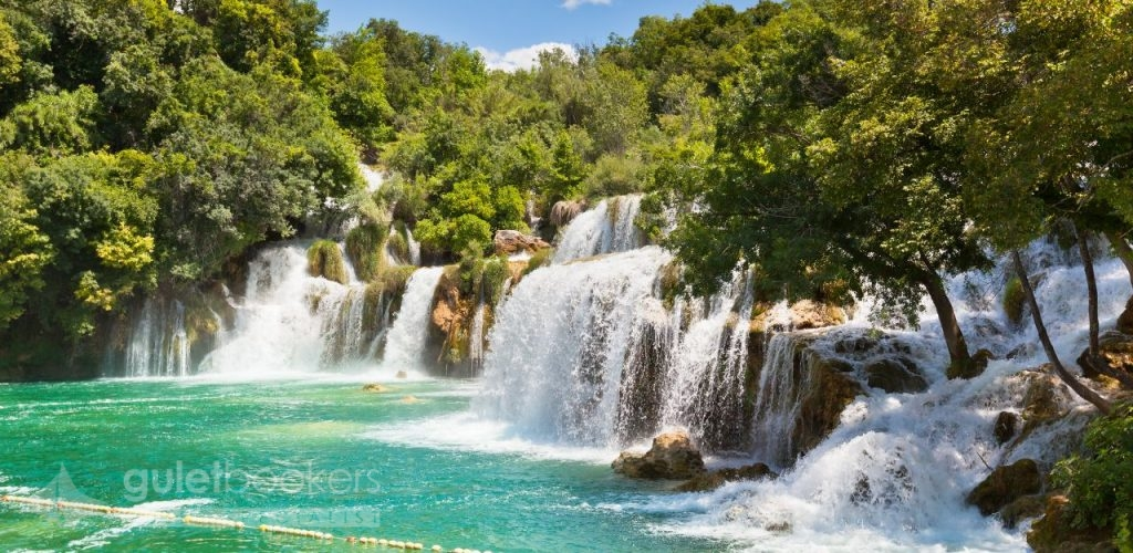 Krka Waterfalls National Park Dalmatia Croatia