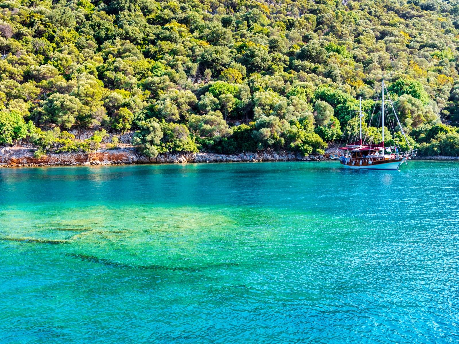 Gocek – Kekova – Gocek Private Cruise Route