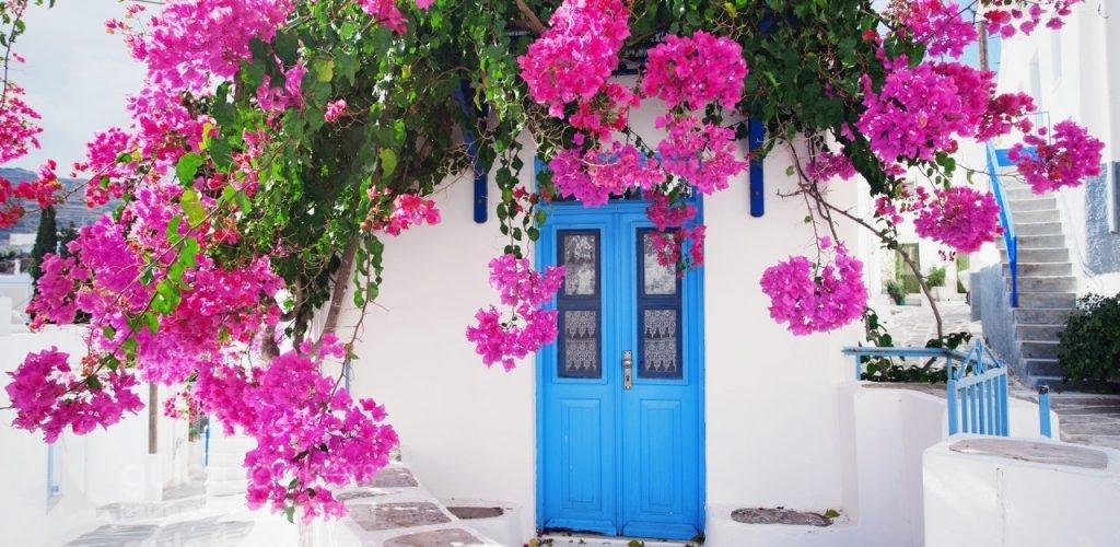 Paros Adası Yunanistan